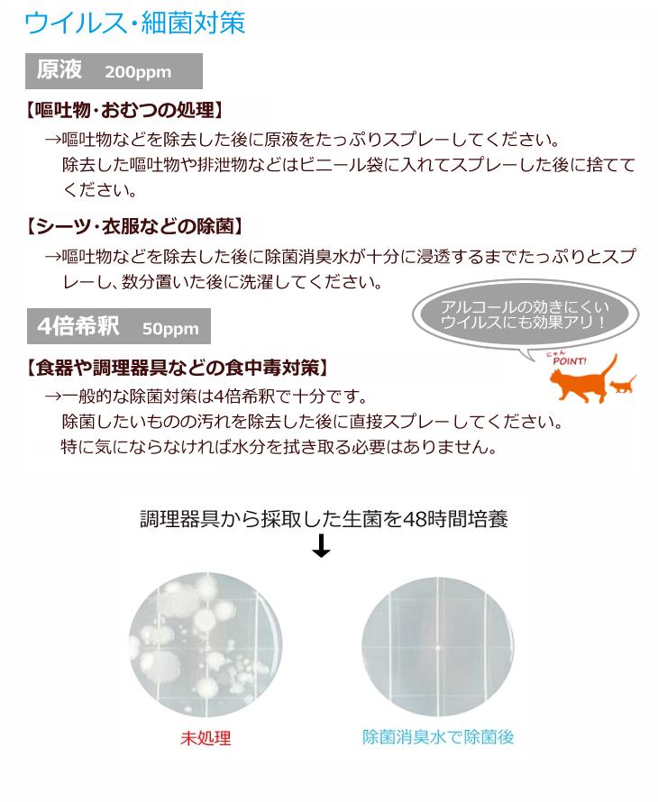 アビィ除菌消臭水の使用方法2