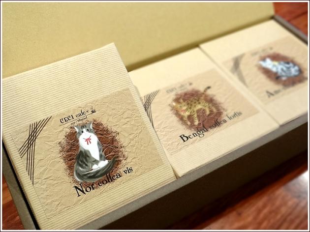 猫デザインドリップバッグコーヒー10g×5入り3個ギフト中身